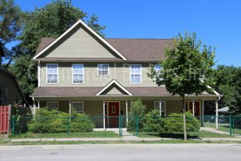 522-524 Multifamily duplex in downtown Lafayette sold by Commercial Brokers, Inc.